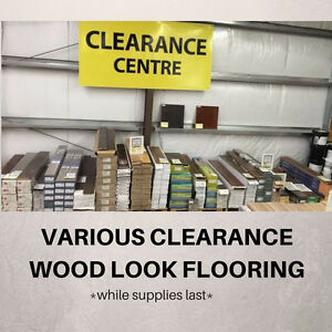 VARIOUS CLEARANCE ITEMS