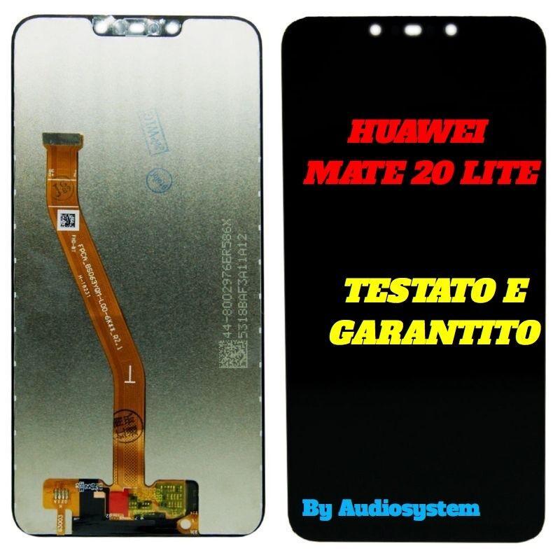 DISPLAY LCD +TOUCH SCREEN HUAWEI per MATE 20 LITE SNE-LX1 SNE-AL00 NERO VETRO
