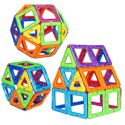 52PCS Similar Magformers Magnetic Construction Building Toys Educational Blocks
