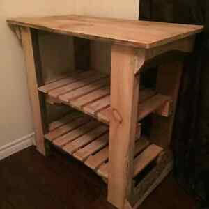 Handmade baby changing table/wooden shelving unit Peterborough Peterborough Area image 1