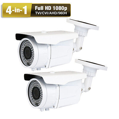 2.6MP Sony CMOS 4-in-1 72IR Weatherproof Outdoor Security Camera WDR DVR System2 4 Kamera Dvr-system