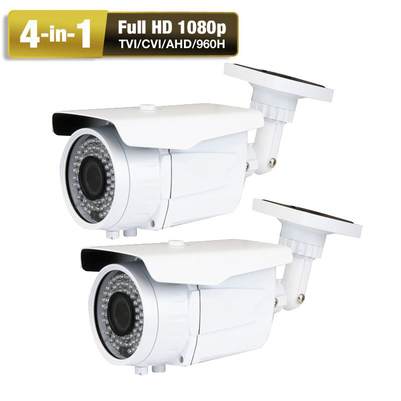 Tvi 2.6mp 4-in-1 Sony Cmos Ccd 1080p 72ir Weatherproof Outdr Security Camera