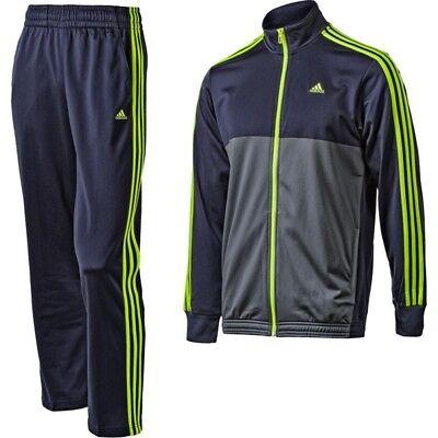 Adidas Herren Trainingsanzug Sportanzug Freizeitanzug Gr 7 L