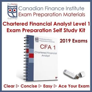 Chartered Financial Analyst CFA L1 2019 Kaplan Schweser
