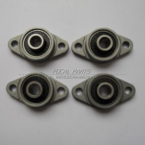 4Pcs 8mm Bore Diameter KFL08 FL08 Pillow Block Bearing Flange Block Bearings M94