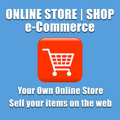 ECOMMERCE WEBSITE / ONLINE SHOP WEB DESIGN - YOUR OWN ONLINE STORE | UNLIMITED