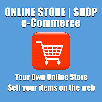 Ecommerce Website Online Shop Web Design - Your Own Online Store Unlimited