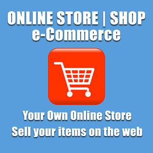 ECOMMERCE WEBSITE / ONLINE SHOP WEB DESIGN - YOUR OWN ONLINE STORE | UNLIMITED