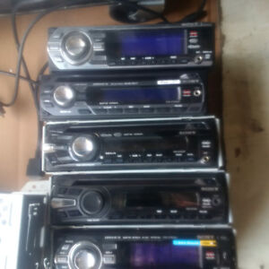 Car audio lot - Sony, MTX, Inteli Power, Acoustic Research