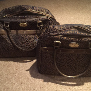 2  Matching Carry on Bags