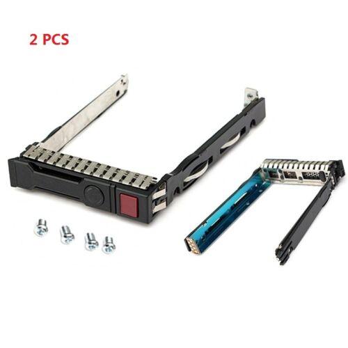 """2* 3.5"""" LFF SAS SATA HDD Tray Caddy for HP Proliant Gen8 Gen 9 server 651314-001"""