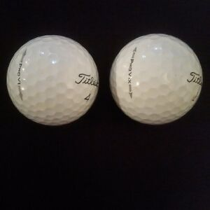 Titleist Pro V1 and Pro V1x used golf balls excellent condition
