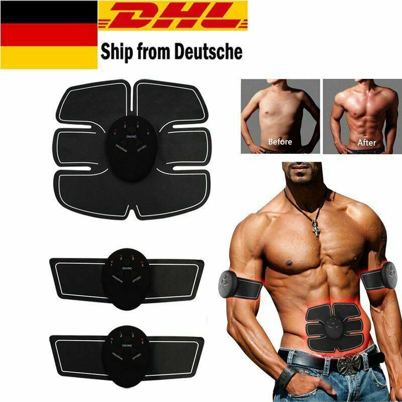 Stimulator Bauchmuskeltrainer EMS Abdominal Muscle Trainer AB Toner Gürtel Gear