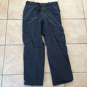 "BC CLOTHING MENS LINED PANTS SZ LARGE with 32"" INSEAM"