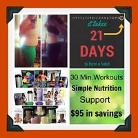 Say no to the holiday weight gain, lose 10-15 pounds in 21 Days!