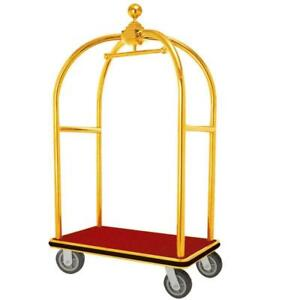Travel Luggage Cart Motel Suitcase Trolly Hotel Cart Convenient New  (220078)