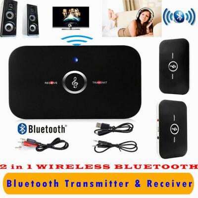 2En1 Adaptador Inalámbrico De Audio Estéreo Receptor Transmisor Bluetooth RCA