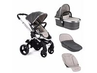 Icandy peach truffle 2 stroller and carry cot 2 in 1