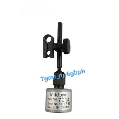 1pcs Mitutoyo 7014 Mini Magnetic Stand For Dial Test Indicators Brand New