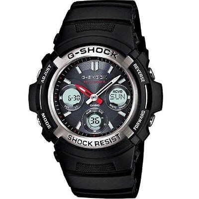 Casio G-Shock AWG-M100-1A Atomic Time Solar Powered Analog Digital Men