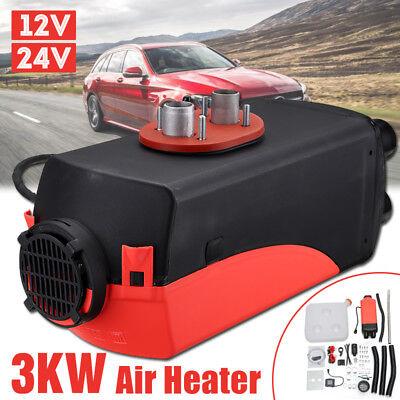 3KW 12V Diesel Air Heater LCD Monitor 3000W For Motorhome Trucks Boats Bus Van