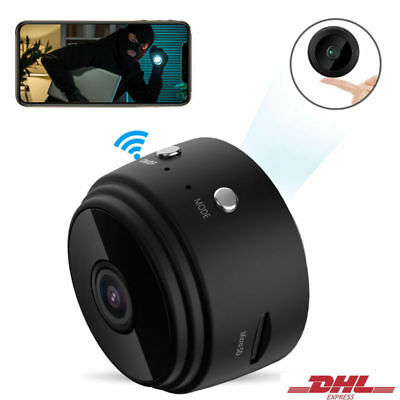 Mini Kamera Wireless WiFi WLAN Überwachungkamera Hidden Spion Camera Spycam DHL Wifi Spy