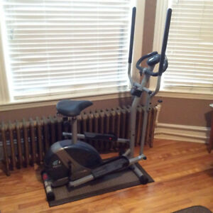 PTFitness Elliptical exercise trainer (great condition)