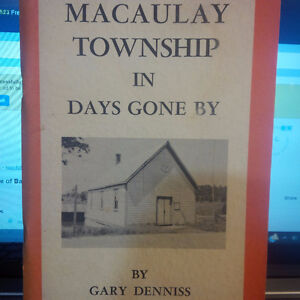 Macaulay Township in Days Gone By