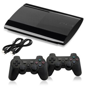 Playstation 3 slim 12GB with 2 controllers and 10 Games