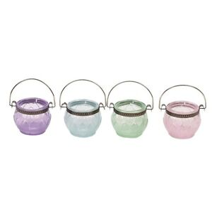 Elegant-Glass-TEALIGHT-HOLDER-hanging-handle-hook-tea-light-candle-pastel
