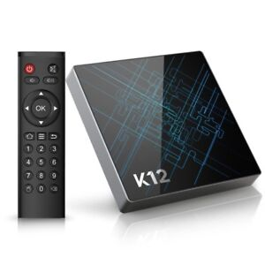 New / Fully Updated K12 Android Box - Plug & Watch - KODI + More
