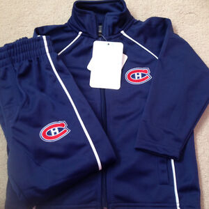 Super duper Gorgeous Canadiens NHL Jacket and pant set for kids