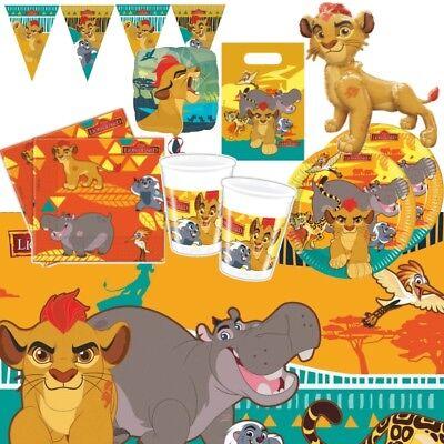 Der Löwe Wächter Party Zubehör Geschirr, Dekorationen, Taschen, Luftballons