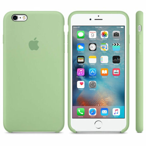 Slim Hard Silicone Case Cover for Apple iPhone 8 7 6s 6 Plus Genuine Official