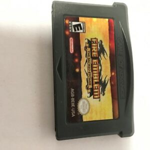 Nintendo GameBoy Advance Fire Emblam game for SALe