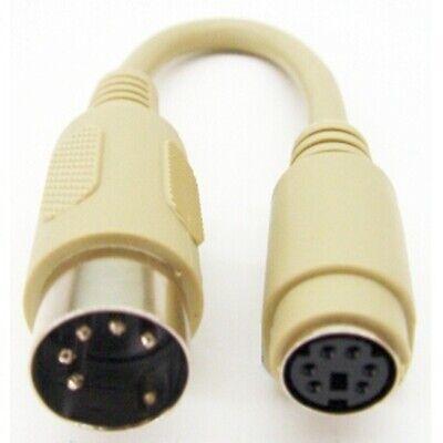 Teclado PC Adaptador/Convertidor Cable, Ps/2 En 5-pin din Puerto Encendido