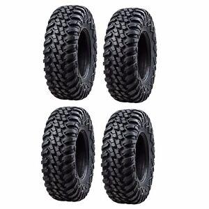 Tusk Terrabite Radial ATV UTV Tire Kit Set Of Four 4 Tires 28x10-14
