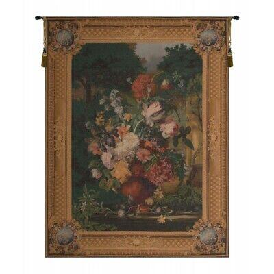 Flemish Bouquet - Grand Bouquet Flamand Flemish Bouquet Flowers Still Life Scene European Tapestry