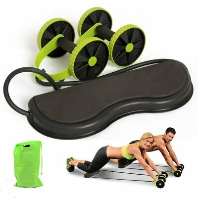 Ab Roller Wheel Trainer Abdominal Workout Fitness Machine Trainer Gym Exercise for sale  Shipping to Canada
