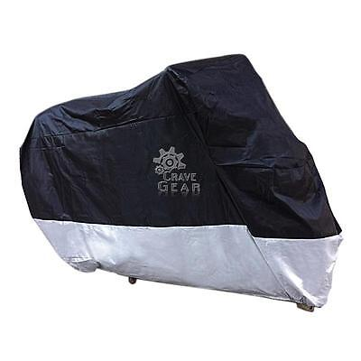 Xxl Waterproof Motorcycle Cover For Harley Dyna Super Wide Glide Low Rider