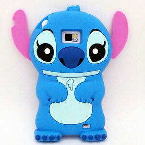 Cute 3D Stitch for Samsung GALAXY S2 II I9100 Silicone Soft Cover Case Protector
