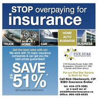 AUTO INSURANCE, HOME INSURANCE - 20% OFF FOR PROFESSIONALS