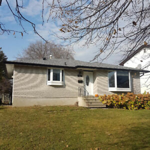 3+1 bedroom partially furnished home in desirable Northwood