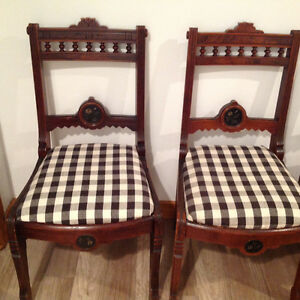 Four Antique chairs Kitchener / Waterloo Kitchener Area image 4