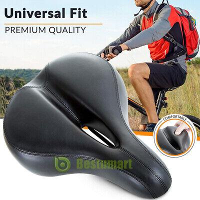 Comfort Wide Big Bum Bike Bicycle Gel Cruiser Extra Seat Saddle Pad Sport L9T4