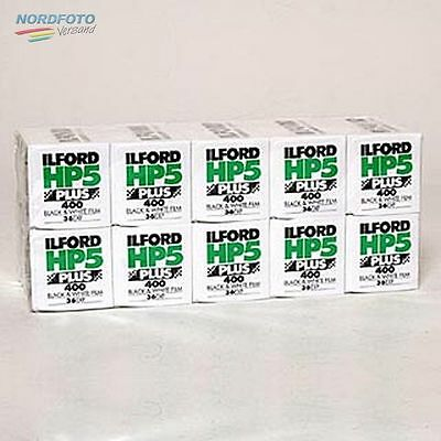 ILFORD HP5 Plus 400 Schwarzweißfilm, 135-36, 10 Stück