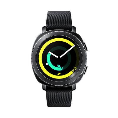 BUNDLE Samsung Gear Sport SM-R600NZKCXAR Super AMOLED Bluetooth Smartwatch