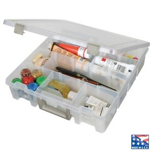 ARTBIN SUPER SATCHEL STORAGE BOX craft stackable Removeable compartments 9007ab