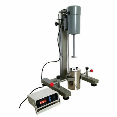 Digital Display High-speed Dispersion Machine Disperser Homogenizer Mixer Lab Us