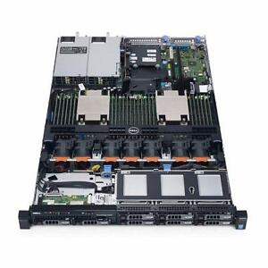 Dell PowerEdge R630 2xE5-2620v3, 16GB, 8x 600GB 10K SAS HDD, PERC H730